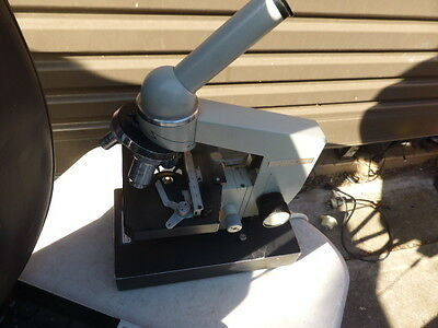 Biolam LOMO Microscope  USSR. CT-12  Microscope stage Electric
