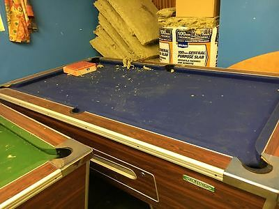 7FT x 4FT Slate Bed Pool/Snooker table in Blue