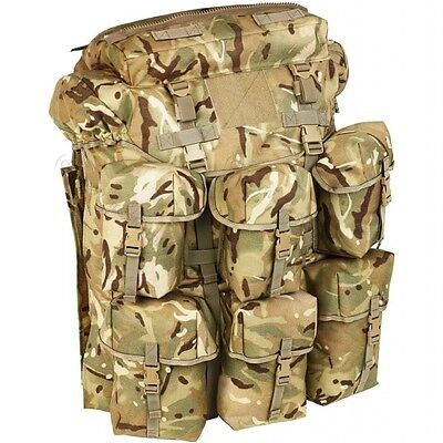 British Army MTP Air Support Bergen Rucksack 150 Litre