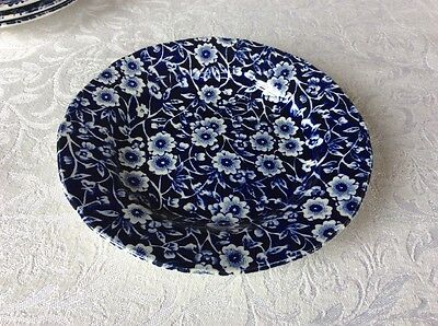"Burleigh Calico Blue Small Side Plate 6""/15cm"
