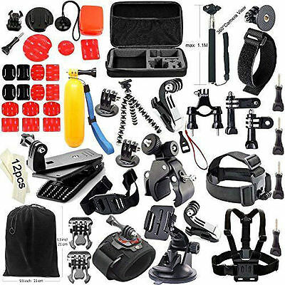 40-in-1 Accessory Kit Bundle for Gopro Hero 4/3+/3/2/ Sport Accessories New