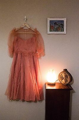 Vintage 80's Womens Size 8 -10 Prom/Party Dress