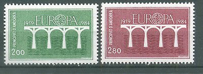 timbres neufs Andorre YT 329 - 330**