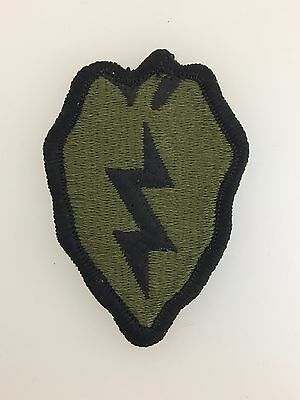 GENUINE American U.S. Army Vietnam War 25th Infantry Division cloth sleeve patch