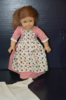 """American Girl vintage Doll FELICITY 18"""" doll dress in the clothes you see"""