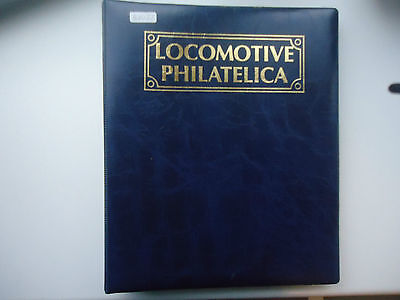Locomotive Philatelica Blue Album (73 Stamps + 8 M/S + 16x FDI Cards + 3x FDC)
