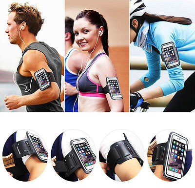 Sports Running Jogging Gym Armband Case For iPhone 6s, 6, 7 Plus, 5, 5s, 5C, 4s