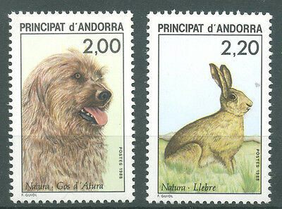 timbres neufs Andorre YT 373 - 374**