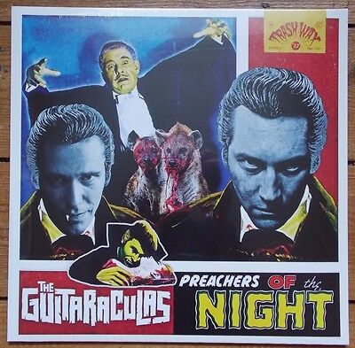 THE GUITARACULAS - Preachers of... BLACK vinyl LP (New) LTD edition MESSER CHUPS