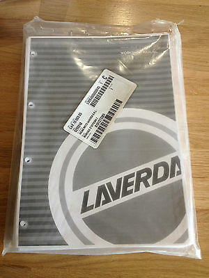 Laverda 750 Genuine Official Workshop Manual Brand New