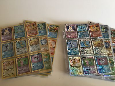 POKEMON  Legendary Collection COMPLETE SET PLUS REVERSE HALOS TOTOL 220 CARDS