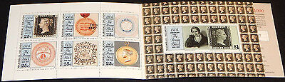 Marshall Islands 1990 150th Anniversary Of Penny Black Booklet SG SB19 MNH / UNM