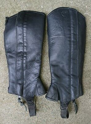 Ariat Classic III Leather Half Chaps - Size SS