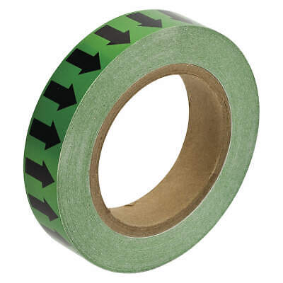 W INCOM MANUFACTURING PMA452 Arrow Tape,White//Green,4 In