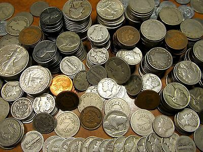 Coin Collection-Silver Coins-Gold-50+Year Old-Estate Sale-Classic Coins