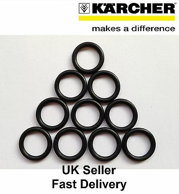 10x KARCHER LANCE SPARE O-RING SEAL HOSE NOZZLE GUN NEW STOP LEAKS REPLACEMENT