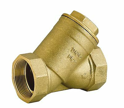 'Y' Strainer Brass Stainless Steel Mesh for Air & Water Various BSP Sizes Female