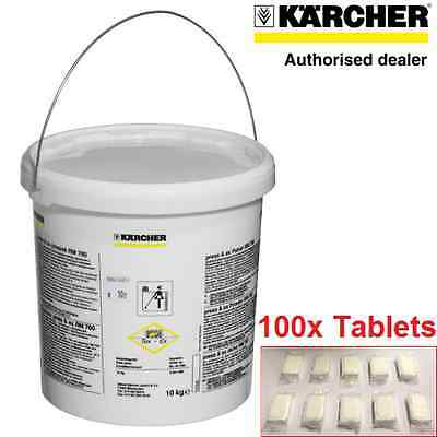 100 Genuine Karcher Rm760 Cleaning Tablets For Puzzi 100 200 10/1 10/2 8/1 30/4
