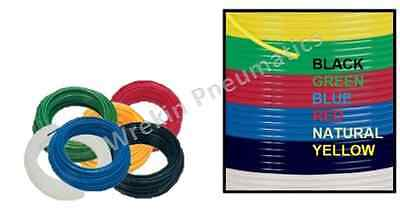 Metric & Imperial Nylon Tube/Hose Pneumatic Air Line Tubing Compressed Airline