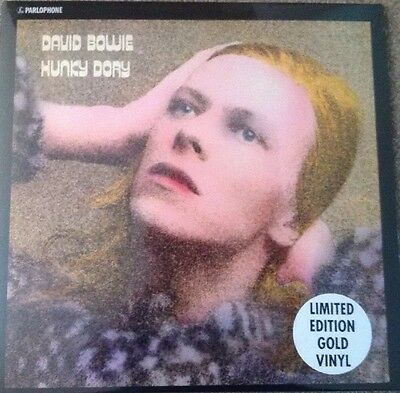 DAVID BOWIE-HUNKY DORY-limited edition Gold Vinyl LP NEW AND SEALED