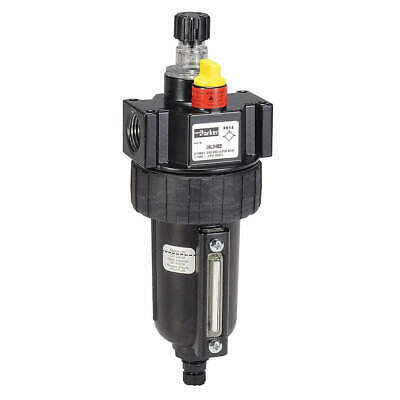 PARKER Air Line Lubricator,1/2In,90 cfm,250 psi, 16L34BE