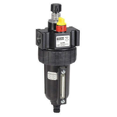 PARKER Air Line Lubricator,1/4In,40 cfm,250 psi, 16L14BE