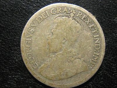 Undated Canada 10 Cents Silver Coin Raw