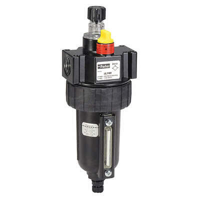 PARKER Air Line Lubricator,1/2In,90 cfm,250 psi, 17L34BE