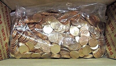 """2017-P Lincoln Pennies -""""The FIRST EVER  """"P""""  Mint Marked Penny"""" 500+ BU Pennies"""