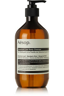 AESOP Geranium Leaf Body Cleanser | 500ml | RRP £31.00 | Free UK P&P