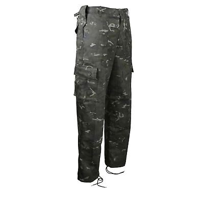 Kombat UK BTP Black Gents Combat Trousers - Camouflage Camo Army Military