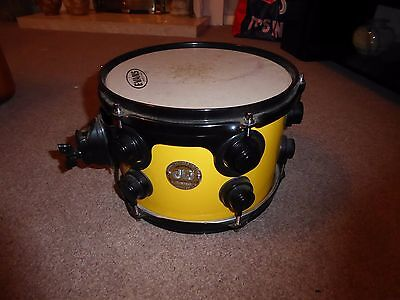 """DW Collector's Series 10 x 7.5"""" - Maple wood Drum - Yellow Lacquer - Custom Made"""