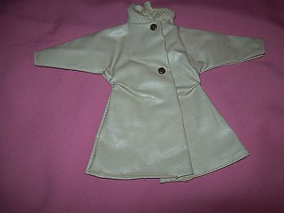 "1950's Original Rare Tan Raincoat for the 12"" Shirley Temple Doll"
