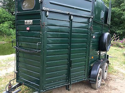 RICE horse box 2 horse- front and rear loading and Jockey door -Beaumont model