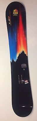 Lib Tech Attack Banana snowboard 156cm 156 hybrid twin Freestyle magnatraction