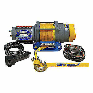 SUPERWINCH ATV/UTV Electric Winch,1-1/3HP,12VDC, 1125230