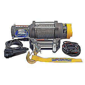 SUPERWINCH ATV/UTV Electric Winch,1-3/5HP,12VDC, 1145220