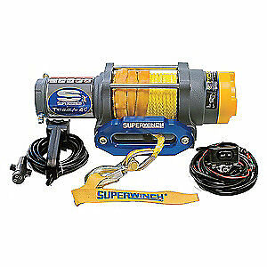 SUPERWINCH ATV/UTV Electric Winch,1-3/5HP,12VDC, 1145230