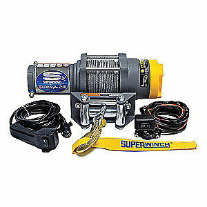 SUPERWINCH ATV/UTV Electric Winch,1-1/3HP,12VDC, 1125220