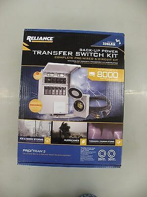 Reliance Controls 306LRK Back-Up Transfer Switch Kit - 6 Circuit