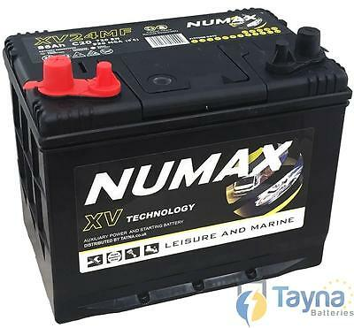 Numax CXV24MF   Sealed Batterie Camping Bateau   12V 86Ah 930MCA   500 Cycles XV