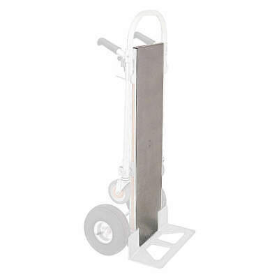 MAGLINER Aluminum Detachable Plate,12 in W,1-1/2 in H, 301645, Silver