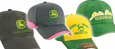 JOHN DEERE Selection of Junior & Infant Kids Baseball Caps