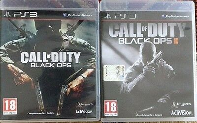 PS3 Black Ops 1 e Black Ops 2