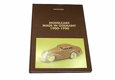Sammlerbuch Paolo Rampini  -Modelcars Made In Germany 1900-1900 -****