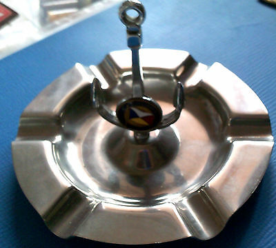 Ss Chusan Ashtray C1950   Silver Plate.  Excellent Condition For Age..