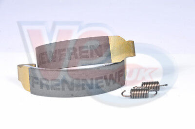 BENELLI 491 50cc AIR COOLED NEW FREN BRAKE SHOES 110mm X 25mm - REAR