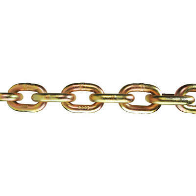LACLEDE Steel Chain,Grade 70,3/8 Size,63 ft.,6600 lb., 3526-503-55
