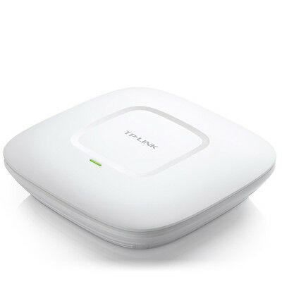 Tp-Link Access Point Wireless Wifi N 300Mbps Poe 802.3Af Professionale Eap120