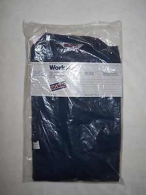 Mens Big Mac Coveralls Worksuit Jc Penny Navy Blue Size 48 L New Sealed